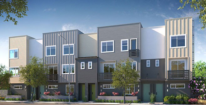 Ice House – Oakland All–Electric Townhomes